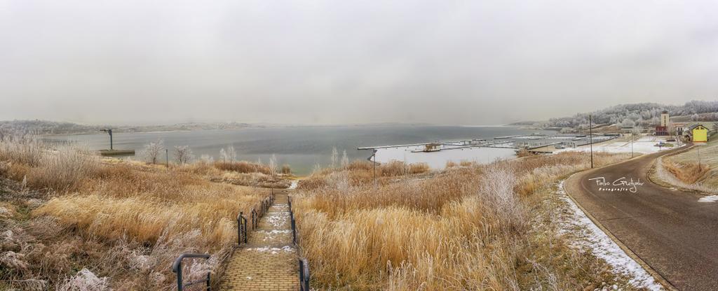 Eisiger Winter am Geiseltalsee (Januar 2017)