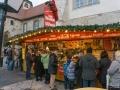 Glühweinstand - Weihnachtsmarkt Burg Querfurt (Dezember 2016)