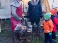 Eisenschmied - Weihnachtsmarkt Burg Querfurt (Dezember 2016)
