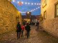 Eingang Weihnachtsmarkt Burg Querfurt (Dezember 2016)